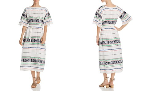 Joie Lilianaly Embroidered Midi Dress - Bloomingdale's_2