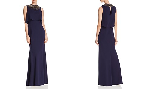 Aidan Mattox Embellished Crepe Gown - Bloomingdale's_2