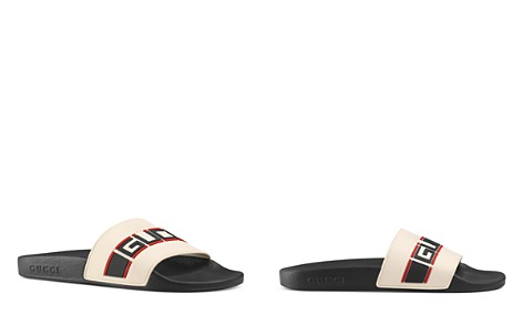 Gucci Women's Stripe Slide Sandals - Bloomingdale's_2