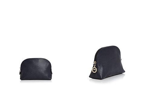 Longchamp Le Foulonné Leather Dome Cosmetic Case - Bloomingdale's_2