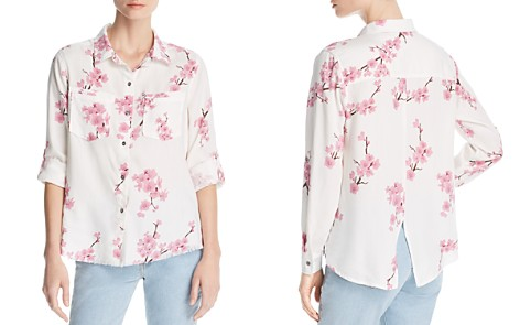 Billy T Cherry Blossom Button-Down Top - Bloomingdale's_2