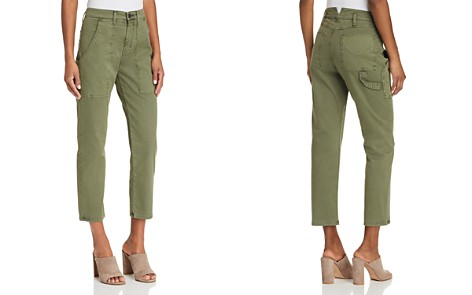 Hudson Leverage High Rise Cargo Pants in Forester - Bloomingdale's_2