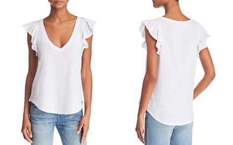 CHASER Flutter-Sleeve Tee - Bloomingdale's_2