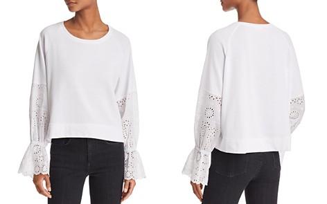 Generation Love Penelope Eyelet-Sleeve Sweatshirt - Bloomingdale's_2