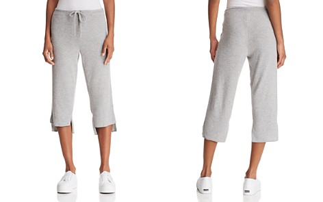 CHASER Step-Hem Cropped Sweatpants - 100% Exclusive - Bloomingdale's_2