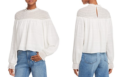 Ramy Brook Josephine Smocked-Yoke Top - Bloomingdale's_2