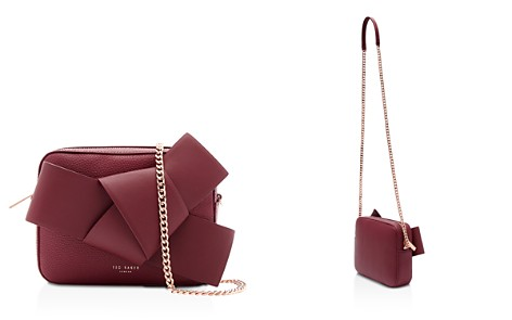 Ted Baker Giant Knot Leather Camera Crossbody - Bloomingdale's_2