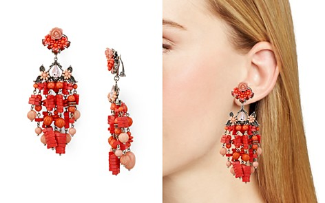 Dannijo Lionel Clip-On Earrings - Bloomingdale's_2