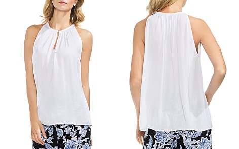 VINCE CAMUTO Petites Keyhole Sleeveless Top - Bloomingdale's_2
