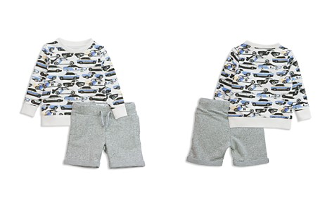 Sovereign Code Boys' French Terry Car-Print Sweatshirt & Shorts Set - Baby - Bloomingdale's_2