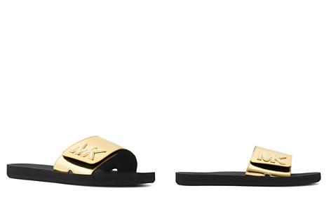 MICHAEL Michael Kors Women's Logo Slide Sandals - Bloomingdale's_2