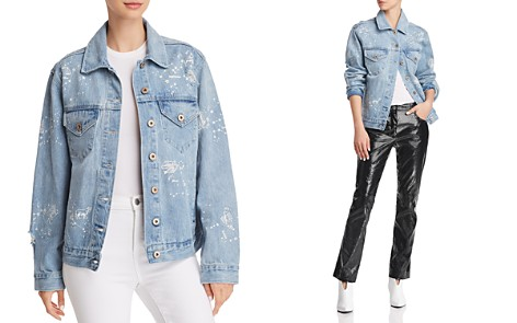 Pistola Boyfriend Astrology Denim Jacket - Bloomingdale's_2
