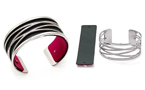 Les Georgettes Liens Reversible Medium Two-Tone Open Cuff Bracelet - Bloomingdale's_2