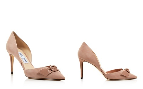 Jimmy Choo Women's Twinkle 85 Suede d'Orsay Pumps - Bloomingdale's_2