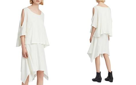 ALLSAINTS Ella Fifi Tiered Cold-Shoulder T-Shirt Dress - Bloomingdale's_2