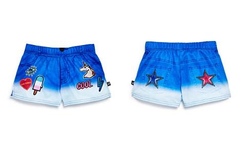 Terez Girls' Denim-Print Shorts - Little Kid - Bloomingdale's_2