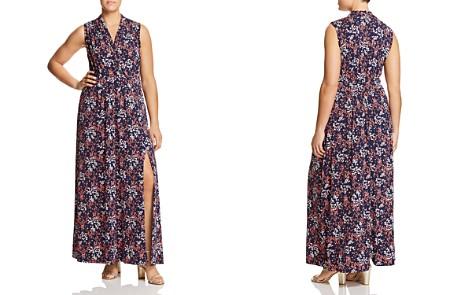 MICHAEL Michael Kors Plus Floral-Print Knit Maxi Dress - Bloomingdale's_2