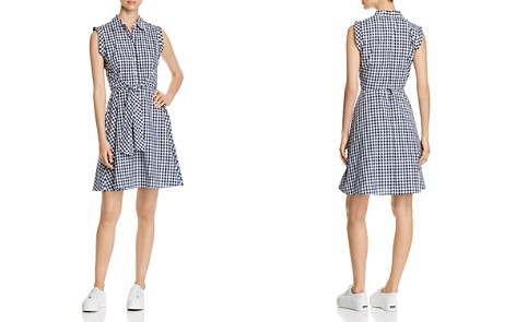 Cupio Gingham Tie-Front Shirt Dress - Bloomingdale's_2