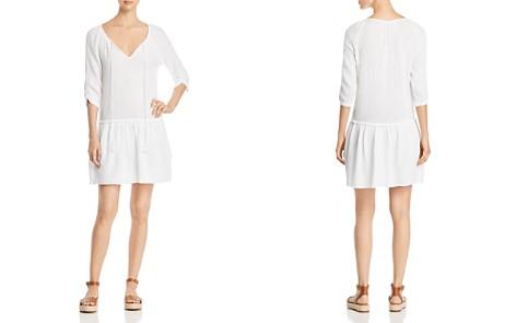 Three Dots Drop-Waist Gauze Peasant Dress - Bloomingdale's_2