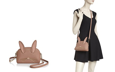 kate spade new york Hilli Rabbit Desert Muse Leather Crossbody - Bloomingdale's_2