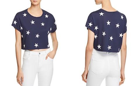 Splendid Cropped Star Print Tee - Bloomingdale's_2