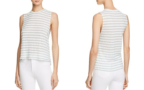 Michelle by Comune Stripe Muscle Tank - Bloomingdale's_2