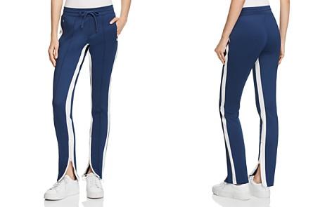 PAM & GELA Zip-Hem Cigarette Track Pants - Bloomingdale's_2