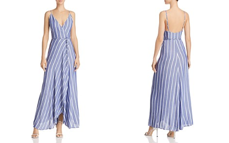 Bardot Raelyn Striped Maxi Wrap Dress - Bloomingdale's_2