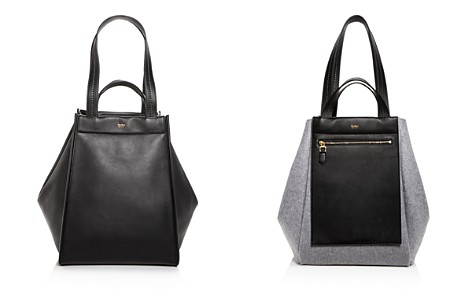 Max Mara Large Reversible Leather & Cashmere Tote - Bloomingdale's_2