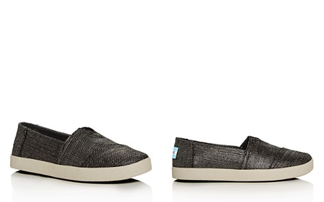 TOMS Women's Avalon Metallic Woven Slip-On Sneakers - Bloomingdale's_2