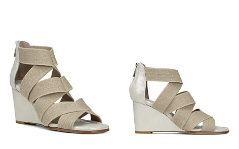 Donald Pliner Women's Lelle-Le Elasticized Cross-Strap Wedge Sandals - Bloomingdale's_2