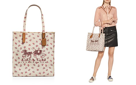 COACH Horse & Carriage Canvas Tote - Bloomingdale's_2