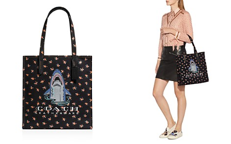 COACH Sharky Canvas Tote - Bloomingdale's_2