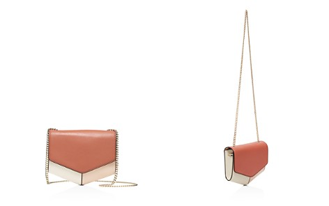 Sandro Lou Color-Block Leather Crossbody - Bloomingdale's_2