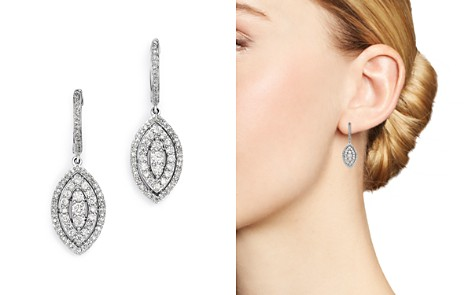 Bloomingdale's Diamond Tiered Marquis Drop Earrings in 14K White Gold, 0.75 ct. t.w. - 100% Exclusive _2