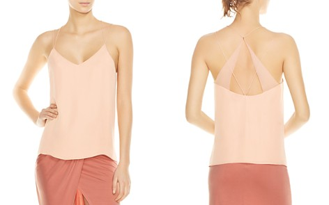 Haute Hippie Yacht Back-Strap Detail Silk Cami - Bloomingdale's_2