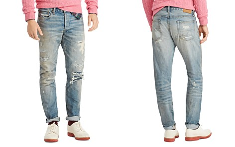 Polo Ralph Lauren Sullivan Slim-Fit Distressed Jeans in Lockwood - Bloomingdale's_2