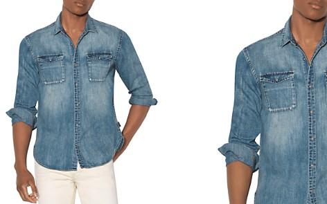 John Varvatos Star USA Regular Fit Denim Shirt - Bloomingdale's_2