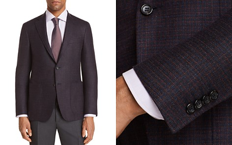 Canali Kei Textured Solid Regular Fit Sport Coat - 100% Exclusive - Bloomingdale's_2