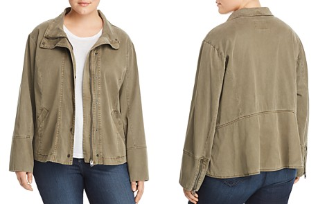 Lucky Brand Plus Vicky Utility Jacket - Bloomingdale's_2