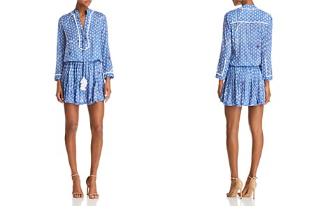 Poupette St. Barth Donna Printed Mini Dress - 100% Exclusive - Bloomingdale's_2