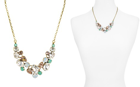 "Sorrelli Faceted Glass Statement Necklace, 16"" - Bloomingdale's_2"