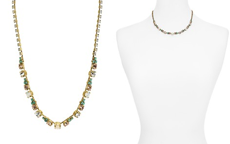 "Sorrelli Faceted Glass Stations Necklace, 15"" - Bloomingdale's_2"