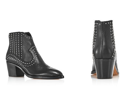 Dolce Vita Women's Dexter Studded Leather Booties - 100% Exclusive - Bloomingdale's_2