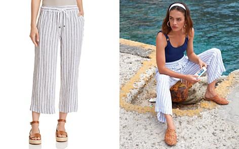 Rails Agnes Striped Wide-Leg Pants - Bloomingdale's_2