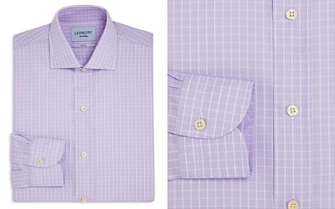 Ledbury Windowpane Check Slim Fit Dress Shirt - Bloomingdale's_2