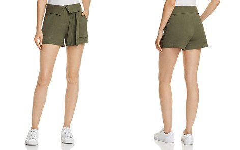 AQUA Fold-Over Utility Shorts - 100% Exclusive - Bloomingdale's_2