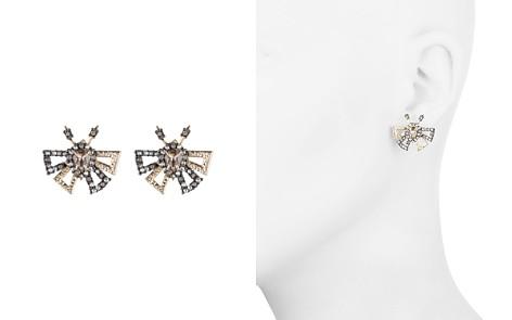 Alexis Bittar Pavé Butterfly Stud Earrings - Bloomingdale's_2