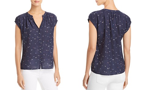 Joie Matinaly Dragonfly Print Shirt - Bloomingdale's_2