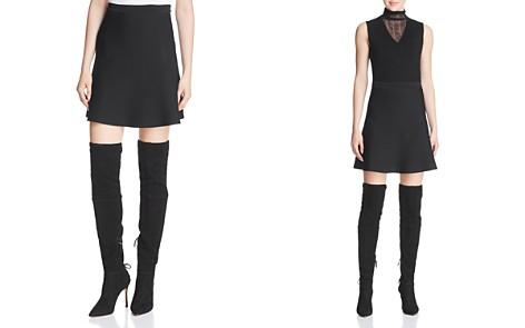Theory Flared Mini Skirt - Bloomingdale's_2
